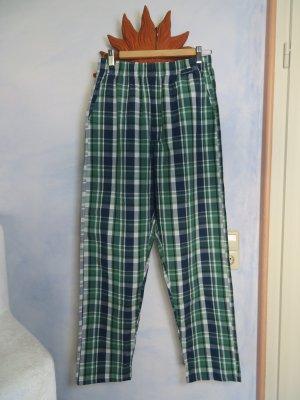 angelo litrico Pantalon boyfriend multicolore coton