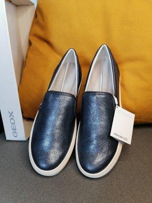 Geox Instapsneakers veelkleurig Gemengd weefsel