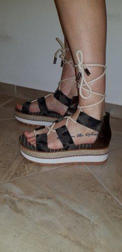 Gioseppo Romeinse sandalen antraciet