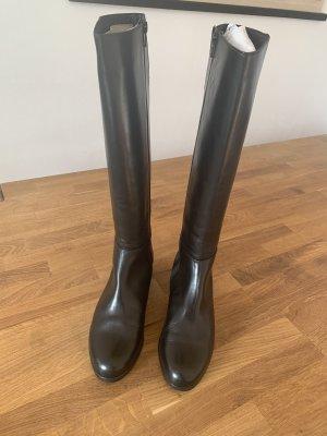 Neue Glattleder Stiefel Gr. 39 von HASSIA