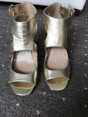 Neue goldene Sandalette  von H&M Gr. 37