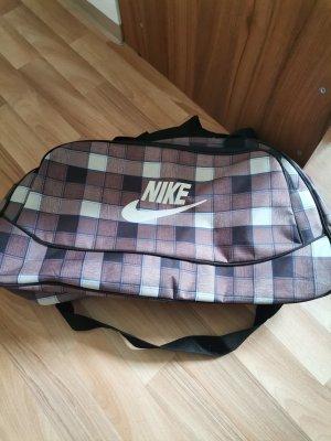 Nike Sac de sport or rose-gris clair