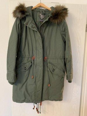 Neue Grüne Kuhjo Winterjacke