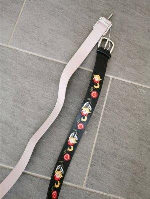 Primark Boucle de ceinture noir-rosé