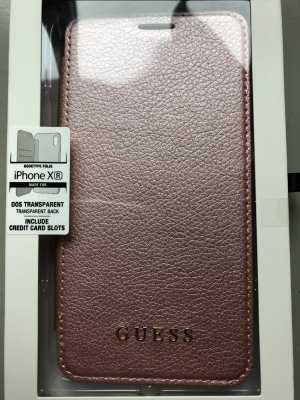 Guess Mobile Phone Case dusky pink-light pink