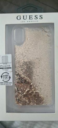 Guess Étui pour téléphone portable doré