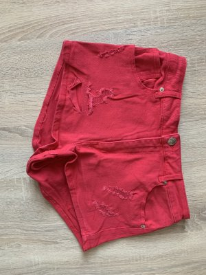 H&M Short moulant rouge brique-rouge