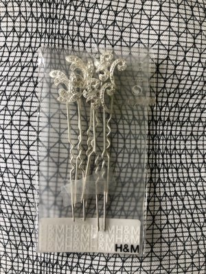 H&M Hair Pin silver-colored