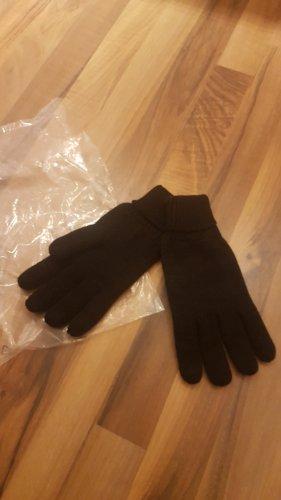 bpc Gebreide handschoenen zwart