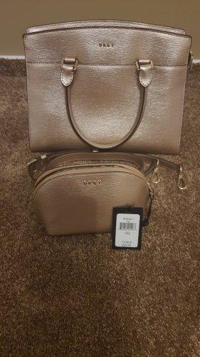 Neue Handtasche u. Kosmetiktasche v. DKNY