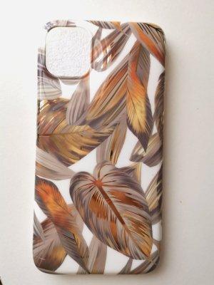 Apple Llavero color bronce-nude