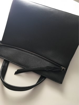 Borse in Pelle Italy Carry Bag black leather