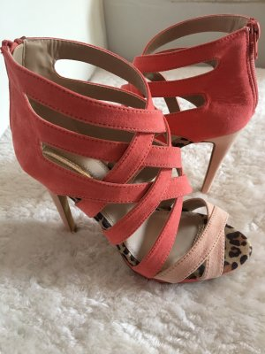 Neue High Heels in lachs, apricot