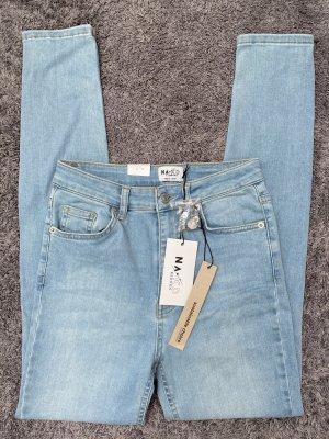 Nakd Jeans a vita alta multicolore