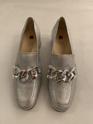 Neue Högl Loafers silber