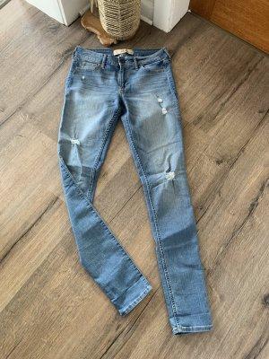 Hollister Jeans skinny blu-azzurro
