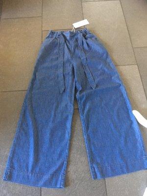 H&M Pantalón de campana azul