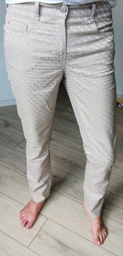 Atelier Gardeur Pantalone jersey crema-beige chiaro