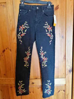 H&M 7/8 Length Jeans multicolored
