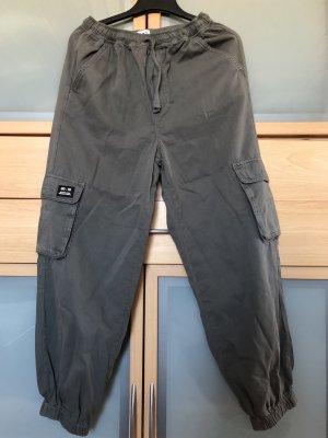 Urban Outfitters Pantalone cargo grigio-grigio scuro