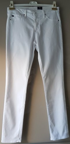 Adriano Goldschmied Five-Pocket Trousers white cotton