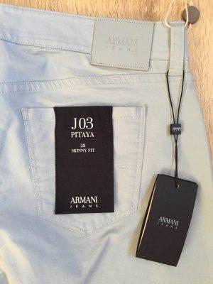 Armani Jeans Jeans skinny bleu azur coton