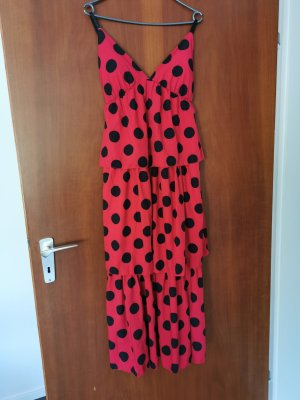aus Italien Midi Dress red