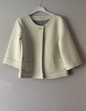 new collection Short Jacket pale yellow