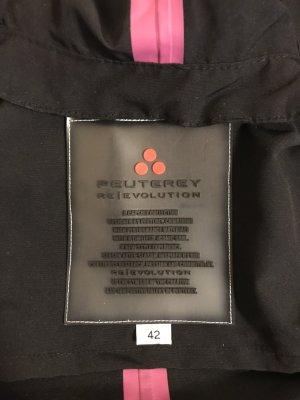 Peuterey Outdoor Jacket black mixture fibre