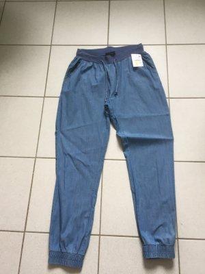 Baggy Jeans steel blue cotton