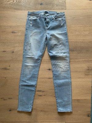 7 For All Mankind Jeans elasticizzati azzurro