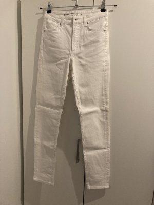 COS Slim Jeans white