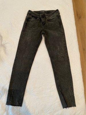 Zara Slim jeans antraciet