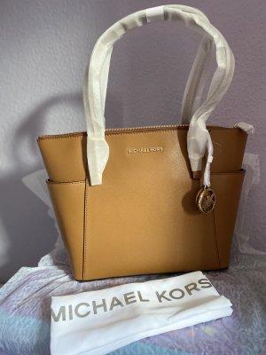 Michael Kors Borsa a spalla marrone chiaro Pelle