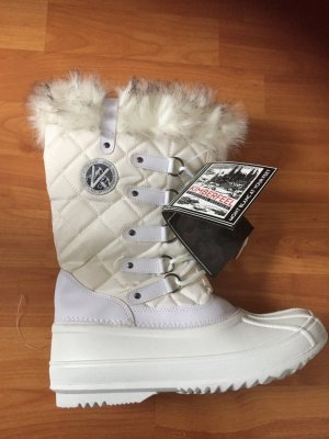 Kimberfeel Fur Boots white-natural white