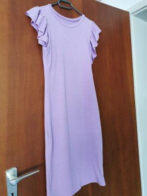 aus Italien Robe mi-longue violet