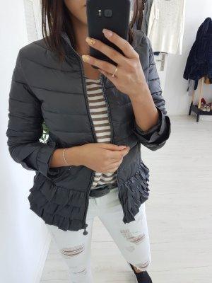 Quilted Jacket dark grey