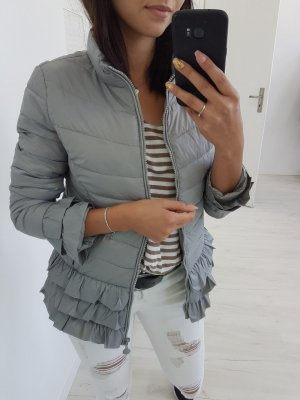 Quilted Jacket light grey