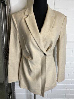 Zara Blazer in lana crema
