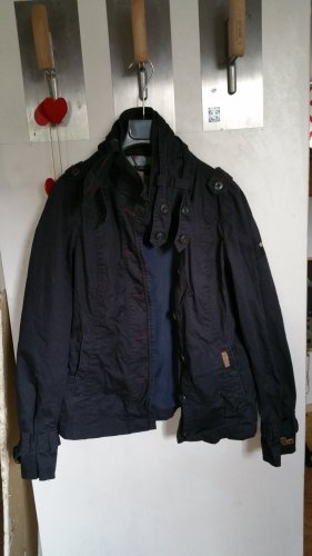 Kuhjo Naval Jacket multicolored mixture fibre