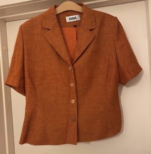 Biba Short Jacket cognac-coloured-neon orange