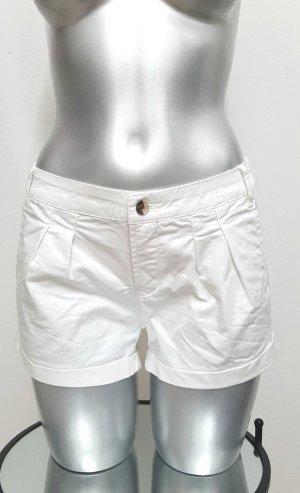 Neue Kurze Hose Gr. 34 in weiß Shorts von AJC chinoshorts