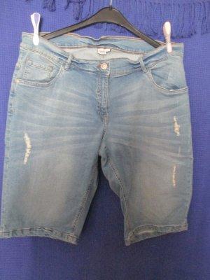 Giada Pantaloncino di jeans blu fiordaliso Cotone