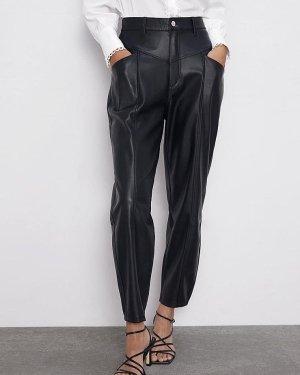 Neue Leder Look Hose von Zara