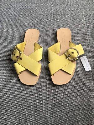 Neue Leder Sandalen
