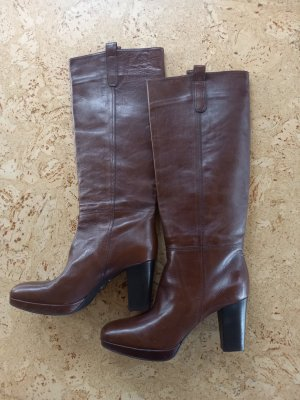 Neue Leder Stiefel Gr.40,5 Made in Italy