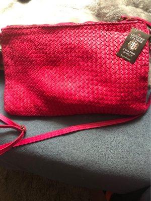 Made in Italy Draagtas roze-magenta