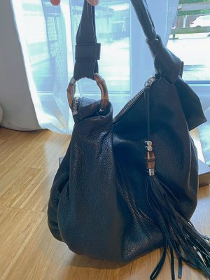 Neue Lederhandtasche von Gucci