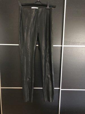 NA-KD Pantalón de cuero negro