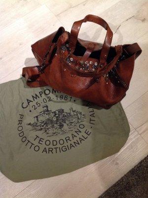 Campomaggi Handbag bronze-colored leather